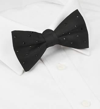 Marks and Spencer Pure Silk Bow Tie MADE WITH SWAROVSKI® ELEMENTS
