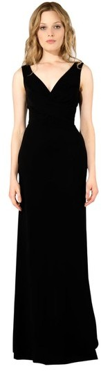 Derek Lam Double V-Neck Gown