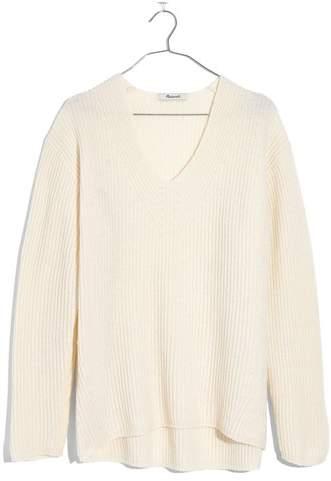 Women's Madewell Woodside Pullover Sweater