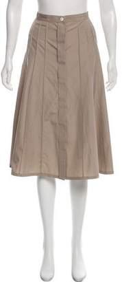 Loro Piana Knee-Length A-Line Skirt w/ Tags