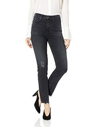 AG Adriano Goldschmied Women's Sophia HIGH-Waisted Skinny Ankle with Destroyed Hem