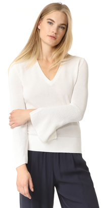 Brochu Walker Rae V Neck $338 thestylecure.com