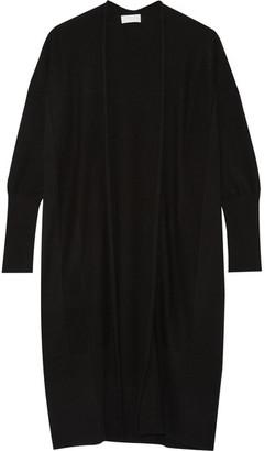 DKNY - Merino Wool Cardigan - Black $400 thestylecure.com