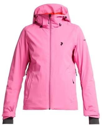 Peak Performance Anima Hooded Ski Jacket - Womens - Pink