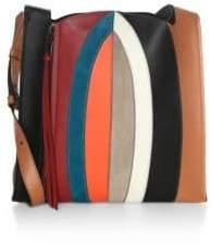 Elena Ghisellini Estia Leather Hobo Bag