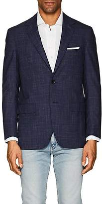 Sartorio Men's PG Checked Wool-Blend Two-Button Sportcoat