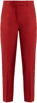 RACIL Aries contrast-stripe slim-leg wool trousers