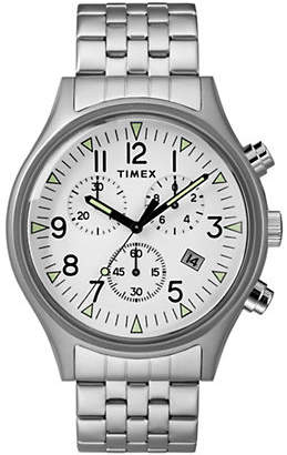Timex BOUTIQUE Chronograph MK1 Stainless Steel Bracelet Watch