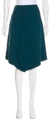 Tibi A-Line Knee-Length Skirt