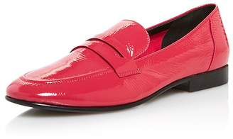Kate Spade Women's Genevieve Almond Toe Patent Leather Loafers