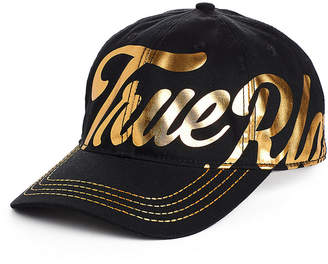 True Religion METALLIC SCRIPT HAT