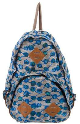 Rachel Comey Printed Satin Backpack