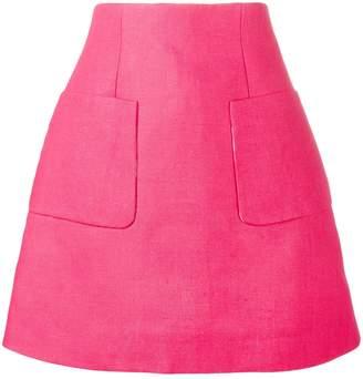 DELPOZO A-line Mini Skirt