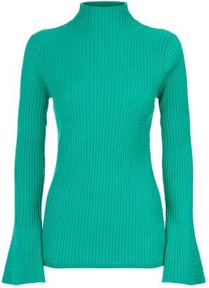 Sandro Diamond Cable Knit Sweater