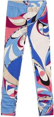 Emilio Pucci Abstract Print Leggings