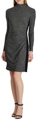 Chaps Shirred Stretch Jersey Dress