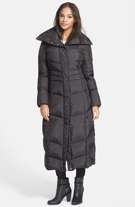 Women's Cole Haan Long Down & Feather Fill Coat $500 thestylecure.com