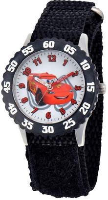 Disney Cars Time Teacher Kids Black Strap Watch