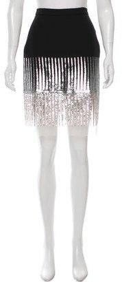 La Perla Sequin Knee-Length Skirt $75 thestylecure.com