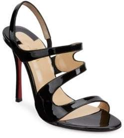 Christian Louboutin Vavazou 100 Leather Sandals