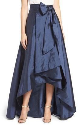 Adrianna Papell High/Low Taffeta Ball Skirt $120 thestylecure.com