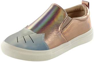 Cat Eye Hoo Chelia's Metallic Sneaker