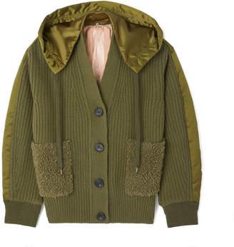 No.21 No. 21 Sweater Bomber Jacket