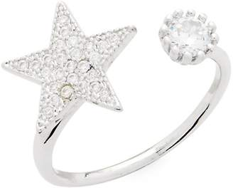 Kenneth Jay Lane CZ by Women's Cubic Zirconia Pave Star Ring