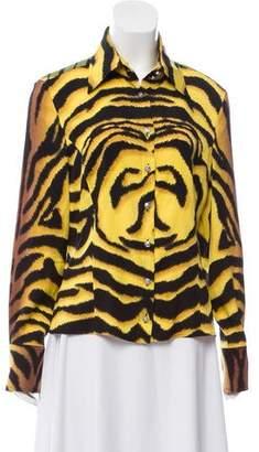 e42834bbef1 Versace Silk Tops - ShopStyle