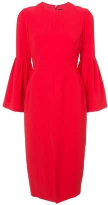 Jill Stuart flute sleeve pencil dress
