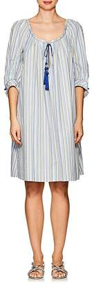 Thierry Colson Women's Eva Striped Cotton Poplin Dress