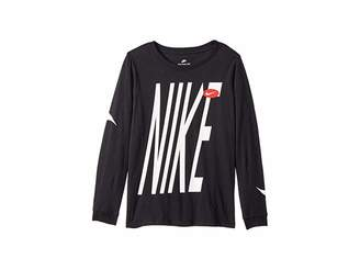 Nike NSW Long Sleeve Tee (Little Kids/Big Kids)