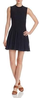 Theory Knit Checker Dress