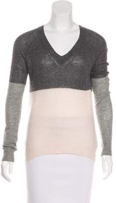 Enza Costa Cashmere V-Neck Sweater