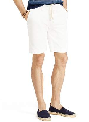 Polo Ralph Lauren Relaxed-Fit Twill Surplus Shorts $75 thestylecure.com
