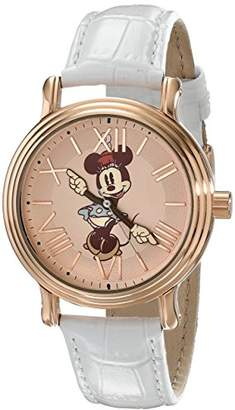 Disney Women's W001857 Minnie Mouse Analog Display Analog Quartz Watch