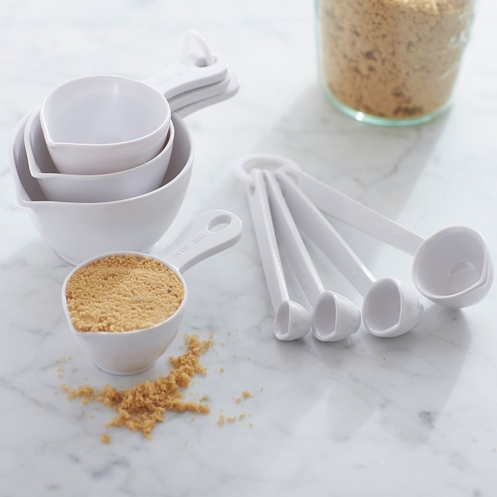 Williams Sonoma Melamine Measuring Cups & Spoon Set