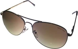Kenneth Cole New York Kenneth Cole Reaction Mens Brown Gradient Lenses Aviator KC1268 32F