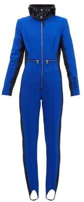 Bogner Delizia Shell All In One Ski Suit - Womens - Blue