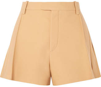 Chloé Wool-blend Shorts - Neutral