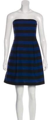 Trina Turk Strapless Mini Dress