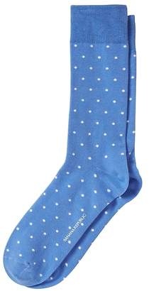 Banana Republic Polka Dot Sock