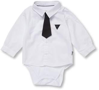 Karl Lagerfeld Little Girl's Dress Shirt Onesie