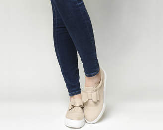 Office Funday Bow Trim Trainers