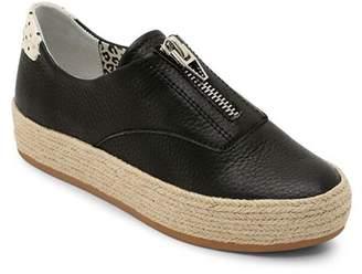 6bd84d5e0c5 Dolce Vita Women s Trae Leather Platform Sneakers