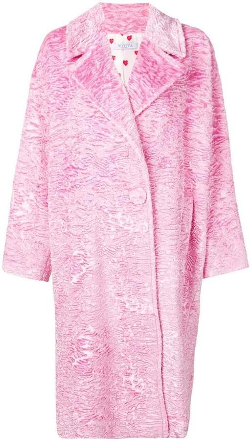 Vivetta oversized mid-length coat