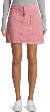 Madewell Classic Cotton Mini Skirt