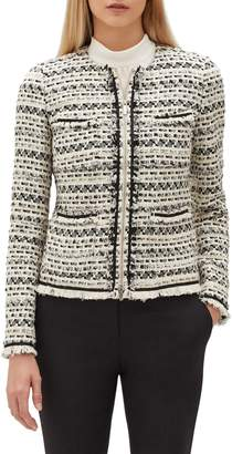 Lafayette 148 New York Benji Modulated Tweed Jacket