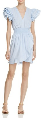 Sandro Camia Ruffle Dress - 100% Exclusive $395 thestylecure.com