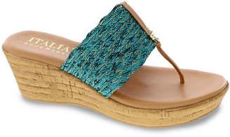 Italian Shoemakers Angeles Wedge Sandal - Women's